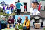 Communities Minister Deirdre Hargey MLA has praised local volunteers, including those pictured for their amazing work generally and in particular during the COVID-19 pandemic, as Volunteers' Week, which runs from June 1 – 7 gets underway.