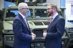 Hamilton sees skills in action at Thales