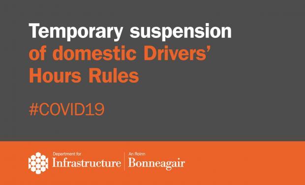 Domestic Driver hours - Covid-19 graphic