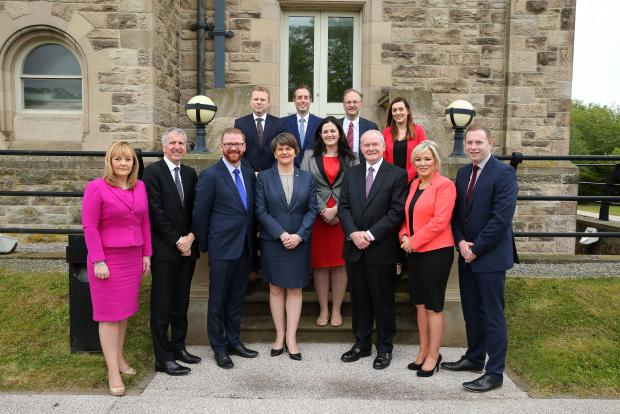 Photograph of the Northern Ireland Executive Ministers